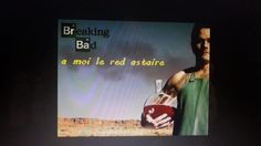 Le Red Astaire made in Breaking Bad ! Breaking Bad, Blog, Journal, Red, Blogging