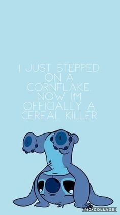 Cute Stitch Quotes | Funny wallpapers, Lilo and stitch drawings, Cute cartoon drawings
