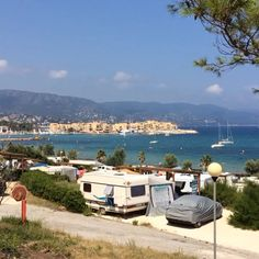 Nice holidays in camping Camp du Domaine view from our pitch. #campdudomaine #beach