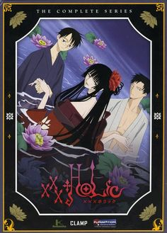 xxxHolic--just started this series--they have it at the library!