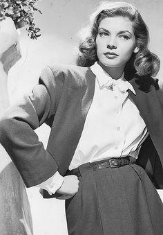 Lauren Bacall, 1945 #celebrities