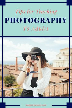 Teaching a photography class can be a great way for photographers to earn extra income in the off seasons such as the months of January and February. Here are a few tips to get your started. #teachphotography #photographybusiness