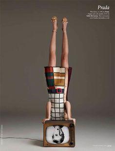 #Twiggy #Prada ad