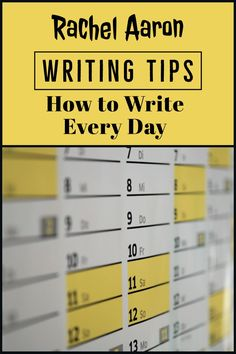): How to (Successfully) Write Every Day Cool Writing, Writing A Book, Writing Tips, Wednesday Specials, National Novel Writing Month, Write Every Day, Months In A Year, Novels, Author