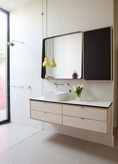 Bathroom of our Yarraville residence project.  Doherty Lynch
