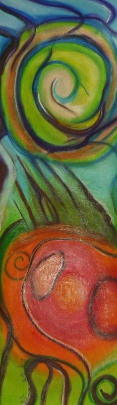 Pastels on watercolour paper, cm, unframed Watercolor Paper, Pastels, Palette, Language, Symbols, Artist, Painting, Arches Watercolor Paper, Artists