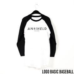 Logo Basic Baseball // http://antiheld-couture.com/shop/unisex-shirts/160-basic-baseball-shirt.html