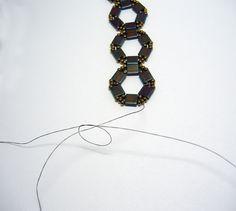 Deb Roberti shows How add thread #Seed #Bead #Tutorials