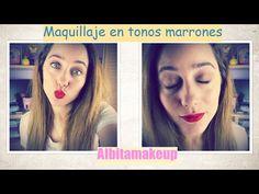 Maquillaje en tonos marrones/ Naked Basics || ALBITAMAKEUP - YouTube