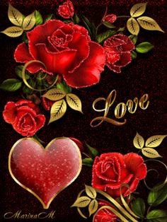 To my dear Joe♡♡♡, Love you♡. Beautiful Love Pictures, Romantic Pictures, Beautiful Gif, Love Images, Beautiful Rose Flowers, Love Rose, Love Flowers, Heart Gif, Love Heart