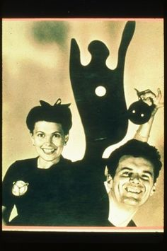 Charles and Ray Eames creative couple I like!