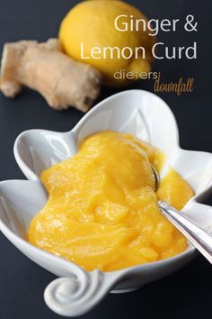 The heat from the Ginger and the cool of the Lemon combine to make a wonderful Curd. From dietersdownfall.com