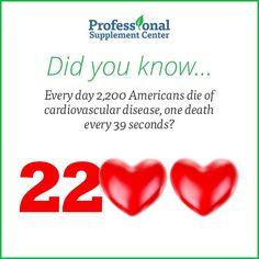 Did you know... #heartdisease #cardiovascular #hearthealth