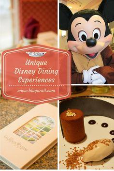 Unique Disney Dining Experiences - The Blogorail