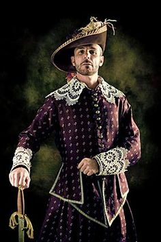 The clothing that men wore during the Renaissance era was much more elaborate than what men sport today. It was much more acceptable for men during the Renaissance to make a show of the way they dressed, especially for the noble class.