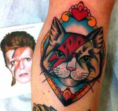 RIP David Bowie | Guía de tatuajes y tatuadores