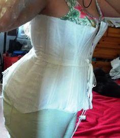 corset grande taille edwardien