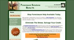 En Masse web design, SEO, Foreclosure, PA