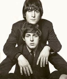 Bid now on Lennon and McCartney by David Bailey. View a wide Variety of artworks by David Bailey, now available for sale on artnet Auctions. Les Beatles, Beatles Love, Beatles Photos, Stuart Sutcliffe, Ringo Starr, Pop Rock, Rock And Roll, David Bailey Photographer, George Harrison