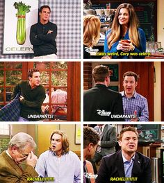 """Ah, the throwbacks to Boy Meets World. I still to this day say """"undapants!"""" in Cory's voice."""