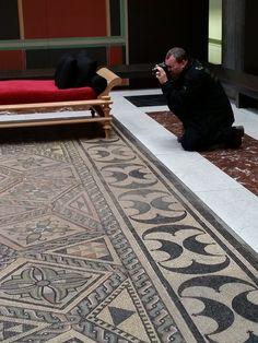 Das Philosophen-Mosaik im römisch-germanischen-Museum in Köln