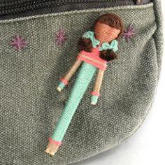 Angela Michelle Dolls: Toothpick Doll Tutorial #4: Finally a Head!