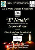 onlus: Concerto di natale a prato per ATT-Associazionetum...