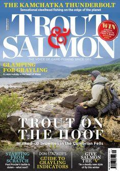 Trout & Salmon December 2018 Carp Fishing, Trout Fishing, Sea Angling, Fishing Magazines, Destin Fishing, Inspirational Articles, Salmon Flies, Types Of Fish, Britain