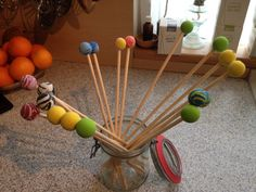 How to make your own Mallets for music therapy or just making your own music. A cool gift for some one who likes making music, or for some kids that like making music. DIY Mallets – Dolce Creativity