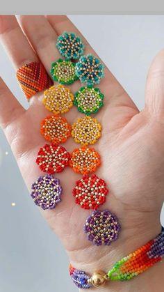 Seed Bead Necklace, Seed Bead Jewelry, Beaded Earrings, Beaded Jewelry, Beaded Bracelets, Seed Bead Crafts, Beaded Crafts, Seed Bead Patterns, Beading Patterns