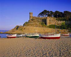Tossa de Mar, Costa Brava, Catalunya (Catalonia) Europe