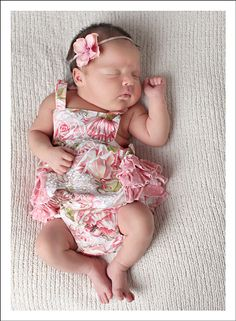 Ruffled Bubble Romper for Baby newborn-24 months
