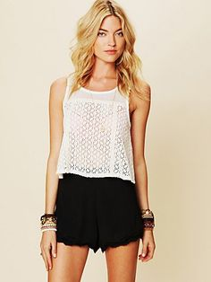 really adorable shorts from freepeople.com.  black or kelly green?  hmmmmm... ;)