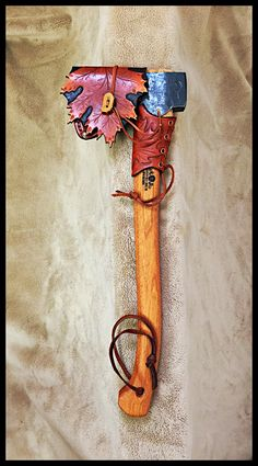 Gransfors Bruks Small Forest Axe # 420 with New Design Custom Leather by John Black