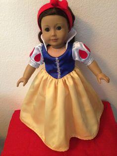 Snow White Dress & Shoes Jobasi Creations