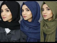 What is hijab? Hijab is the head scarf which is usually worn by the Muslim women. Many of the gir. Simple Hijab Tutorial, Hijab Simple, Hijab Style Tutorial, Scarf Tutorial, Muslim Fashion, Hijab Fashion, Hashtag Hijab, Kebaya Hijab, Modern Hijab