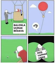 Funny pictures about Free Balloon Rides. Oh, and cool pics about Free Balloon Rides. Also, Free Balloon Rides photos. Funny Cartoons, Funny Comics, Funny Memes, Hilarious, Jokes, Funny Laugh, Funny Kids, The Funny, The Awkward Yeti