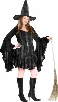 Plus witch adult costumes size