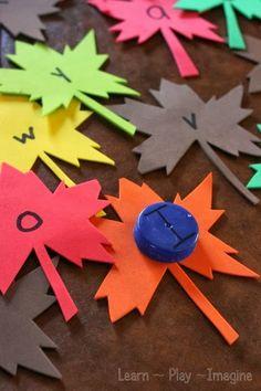Preschool Activities... language and literacy
