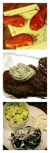 #gesternabendbeiuns #abendessen #besonderertag #steak #jungbulle #metzgervonnebenan #2minvonjederseite #knobibutter #salat #kräuter #joghurt #feta #lowcarbmeetssexyfood  #selfmade #foodporn #antitütenkochen