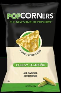 Looking For a Tasty Snack? POPCORNERS! Giveaway ends 8/13