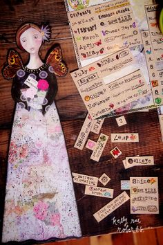 Nourish Your Soul: Build your own girl with our magnetic affirmations!