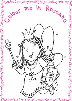 Colour me in Queen Picture  www.thedummyfairyworkshop.com