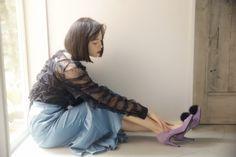 ふわっと可愛いをまとって。玉城ティナが着るトレンドファーアイテム5♡|MERY [メリー]