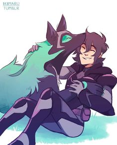Keith and his Wolf