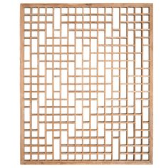 Bleached Lattice Panel | From a unique collection of antique and modern windows at http://www.1stdibs.com/furniture/building-garden/windows/