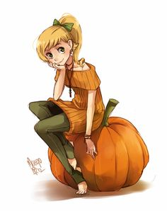 pumpkin by meago.deviantart.com on @deviantART - one of my favorite artists! Love this!