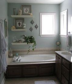 Bathroom Tub Surround Ideas Inspirational 20 Neat and Functional Bathtub Surround Storage Ideas 2017 Bathtub Storage, Bathtub Decor, Bathroom Furniture, Bathtub Table, Big Bathrooms, Amazing Bathrooms, Small Bathroom, Bathroom Ideas, Bathtub Ideas