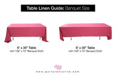 Best Of Tablecloth Size Guide