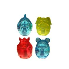 'DOGLUCENT' TPR Animal Dog Toys ~ The Kid in Me Loves this Translucent Look | MultiPet